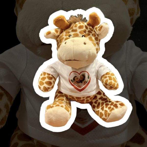 Peluche Giraffa Stampa