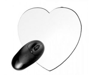 Tappetino Mouse a Cuore
