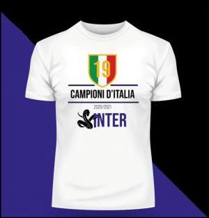 T-Shirt celebrativa Inter